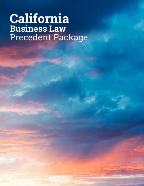 california corporate law precedents