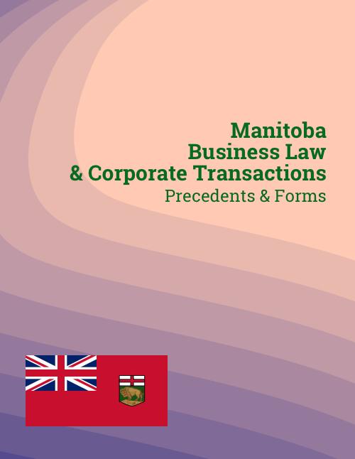 manitoba corporate law precedents
