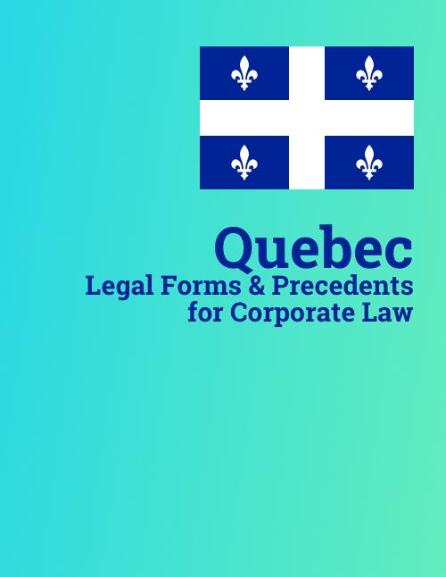quebec corporate law precedents